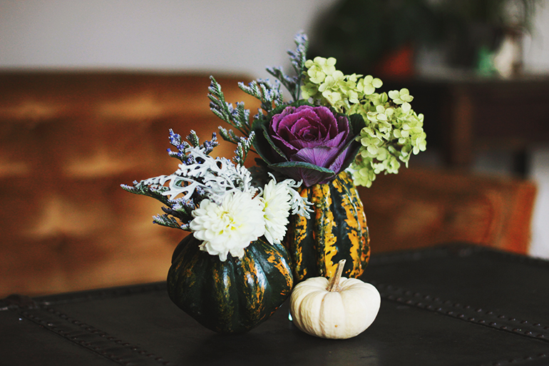 budget thanksgiving decor